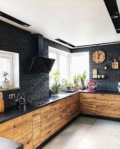 Rechercher Kitchen Room Design, Modern Kitchen Design, Home Decor Kitchen, Rustic Kitchen, Interior Design Kitchen, Kitchen Furniture, Home Kitchens, Kitchen Ideas, Diy Kitchen