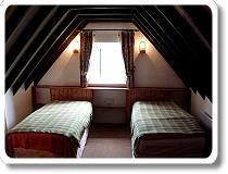 Irish Cottage attic bedroom