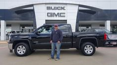 DUSTYN's new 2016 GMC SIERRA! Congratulations and best wishes from Hall Buick GMC and GERMAN FLORES.
