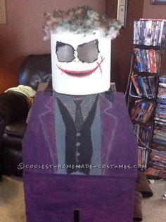 Coolest Batman and Joker Lego Minifig Halloween Costumes Joker Costume, Halloween Costumes, Homemade Costumes, Super Heros, Legos, Princesses, Costume Ideas, Batman, Holidays