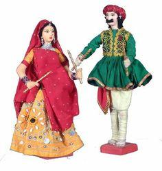 Dolls playDing dhandiya.......