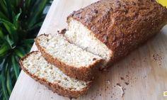Pão de coco low carb macio e delicioso