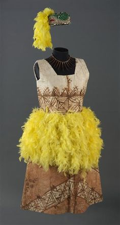 Fuataimi's costume, Line Pulou, Auckland, New Zealand.