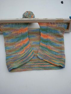Haleys loomed baby blanket picture