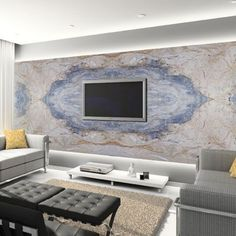 Marble of The World Family Rooms, Living Rooms, Stone Cladding Tiles, Granite Slab, Engineered Stone, Marble Wall, Modern Interiors, Interior Walls, Wall Ideas