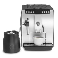 Bought this refurbished automatic espresso maker from Seattle Coffee Gear online.  Best machine and best customer service ever!  Gotta watch the YouTube videos of Gail explaining all the coffee machines and their attributes...she's the greatest!