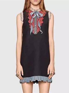 Vestido com Laço Bordado - Compre Online | DMS Boutique