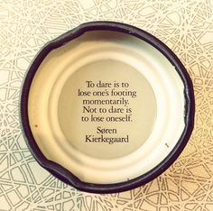 "Soren Kierkegaard believed you should take a ""leap of faith"" in life. Kierkegaard Quotes, Soren Kierkegaard, Life Advice, Good Advice, Atheist Agnostic, Soul Poetry, Philosophical Quotes, Wise People, Quotation Marks"