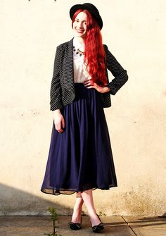 Asos Hat, Primark Blazer, Ever Ours Necklace, Forever 21 Skirt, Asos Heels