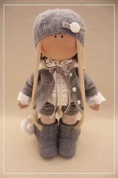 К Pretty Dolls, Cute Dolls, Beautiful Dolls, Doll Toys, Barbie Dolls, Muñeca Diy, Fabric Toys, Sock Animals, Doll Maker