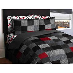 JJ's room? would match the set he has now... and the blanket im making him