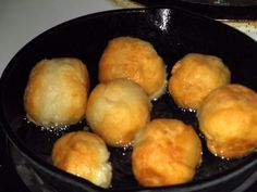 US Americans eat biscuits, Jamaicans eat fried dumplings. I like biscuits but I love me some fried dumplings (Johnny cake)!