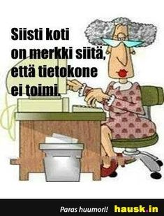 Siisti koti on merkki. Bujo, Texts, Funny Stuff, Nice, Top, Funny Things, Shirts, Blouses, Text Messages