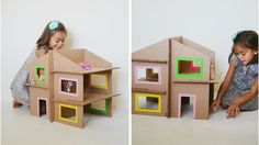 Maison de poupée en carton DIY My Cakies