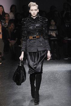 Gianfranco Ferré Fall 2009 Ready-to-Wear Fashion Show - Anya Kazakova