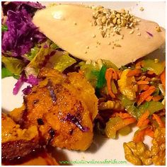 Roast chicken with salad and baked pumpkin. #Paleo #dinner #fresh #vegetables #lowcarb #grainfree #glutenfree #eatarainbow #eatclean #fitnessfood #jerf #huntergatherer #weightloss #healthy #healthyfoodshare #homemade