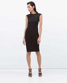 MID - LENGTH TAILORED DRESS - View all - Dresses - WOMAN | ZARA Serbia