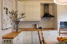 Small white kitchen/ маленькая белая кухня