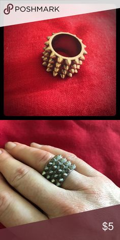 Spiked ring Chunky and badass! Jewelry Rings