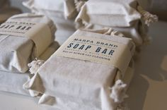 Marfa Brand Soap Packaging