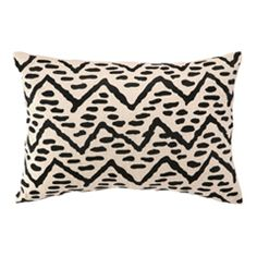 Tribal Pebble Embroidered Pillow