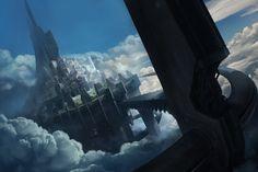 Sundial city by BO LI | Fantasy | 2D | CGSociety
