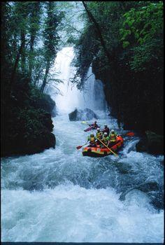 Rafting sulla Cascata delle Marmore