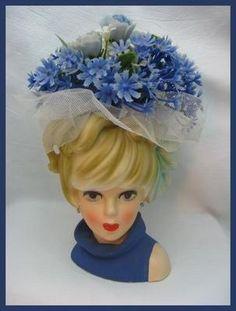 Rare Head Vases | Vintage Lady Head Vase | Lady Head Vases!