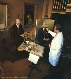 American Portrait Painter:   John Howard Sanden