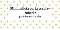 Minimalista vs. kapszula ruhatár – PARETO LÁNYA