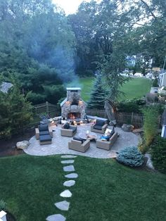 Whether you're looking to get an outdoor combo fireplace and pizza oven, a brick fireplace, or a full outdoor kitchen we have inspiration for you!
