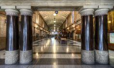Railway Hall Photograph by Wayne Sherriff
