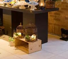 Use caixotes na decoração do seu casamento!