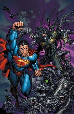 Superman and The Darkness by Marc Silvestri and Tyler Kirkham (DC, & Top Cow/Image comics)