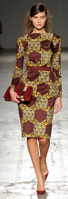 Stella Jean Fall 2014 Ready-to-Wear Milan Fashion week African Dresses For Women, African Print Dresses, African Attire, African Wear, African Women, African Prints, African Style, African Clothes, African Fabric