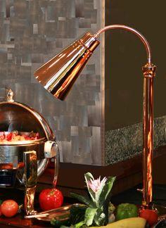 Super versatile Hanson SLM300STCH Culinary Heat Lamp | Modern Heat ...