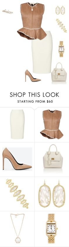"""""""Love the Classics"""" by doris610 ❤ liked on Polyvore featuring Phase Eight, Ter Et Bantine, Yves Saint Laurent, Emilio Pucci, Kendra Scott, Kelly Wearstler and Hermès"""