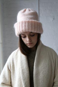 Rennes is a Philadelphia based design studio started by Julia Okun in Knitting Accessories, Winter Accessories, Clothing Patterns, Knitting Patterns, Knit Crochet, Crochet Hats, Angora, Love Hat, Minimal Fashion