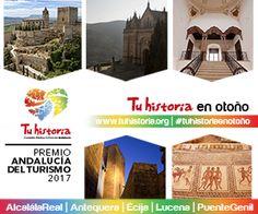 Bienvenido #Octubre. #AlcalálaReal #Antequera #Écija #Lucena #PuenteGenil #intensamente #experiencias