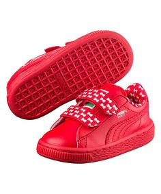 721920b3f310 PUMA Sesame Street High Risk Red Basket Elmo Mono V PS Sneaker - Kids