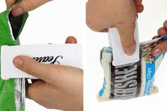 Handheld Bag Resealers  Keep the freshness in and the spills away!  53% OFF