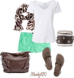 """""""Mint Chocolate"""" by mandys120 ❤ liked on Polyvore"""