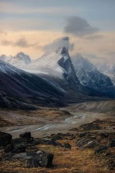 Mount ThorBaffin Island / Canada (by   Artur Stanisz). #travel