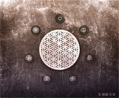 The Flower of Life is a geometrical figure composed of multiple evenly-spaced, overlapping circles and has used as a decorative motif since ancient times. The Flower of Life is historically considered a symbol of sacred geometry, with some authors asserting that they represent ancient spiritual beliefs, and that they depict fundamental aspects of space and time