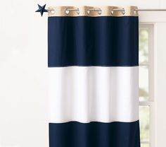 Pottery Barn Kids Rugby Blackout Panel