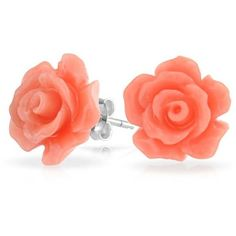 Bling Jewelry Pinky Petal Studs ($13) ❤ liked on Polyvore featuring jewelry, earrings, accessories, pink, studs, stud-earrings, rose flower jewelry, stud earring set, rose stud earrings and imitation jewelry