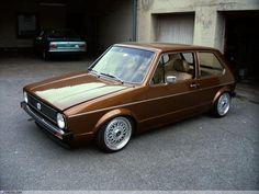 Custom Gold MK1 GTI