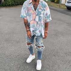 99 Trendy Summer Outfits Ideas Youll Want To Copy This Year Dope Fashion, Tomboy Fashion, Streetwear Fashion, Mens Fashion, Fashion Styles, Urban Fashion Girls, Latex Fashion, Fashion Advice, Street Fashion