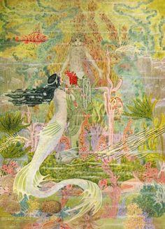 Mermaid by Dugald Stewart Walker