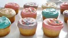 You don't have to wait in line You can make the famous West Village bakery's cupcakes at home Don't forget the icing!